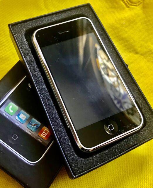 Apple iPhone 2G 1st Generation 8GB A1203 - iOS 1.0.1 -  MA712LL/A - UNLOCKED