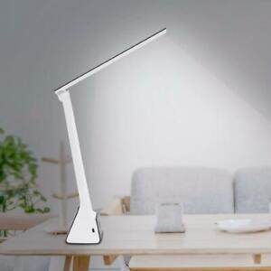 1X LED USB Falten Schreibtisch-Lampe Büro dimmbar Touch Leselampe Nachttisch DE
