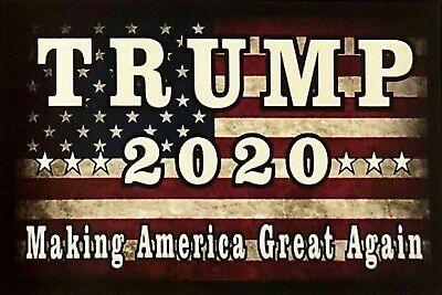 Donald Trump Man Cave DECOR SIGN 4x6 magnet Fridge Refrigerator America BAR Shop