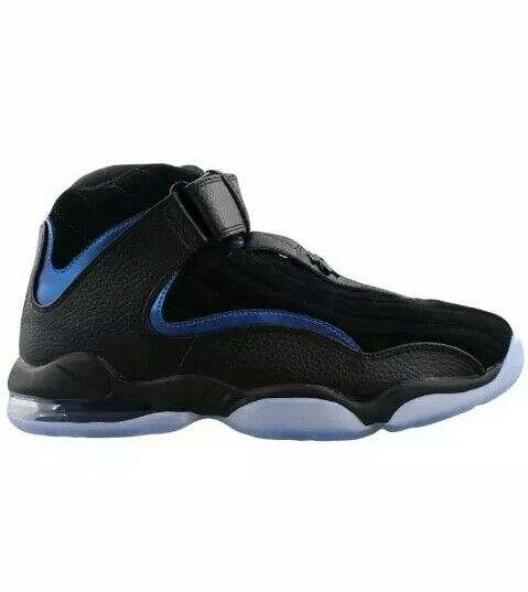 Nike Air Penny IV 4 Sz. 10.5 penny Hardaway Black Blue orlando Magic 864018-001 Wild casual shoes