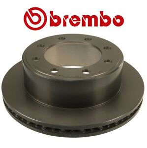 Rear-Left-or-Right-326mm-Vented-Coated-Brake-Disc-Rotor-Brembo-For-Ford-E-Series