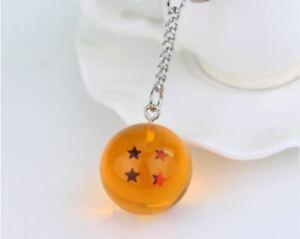 Colgante-Dragon-Ball-Bola-4-Estrellas-cadena-Incluida-3-cm