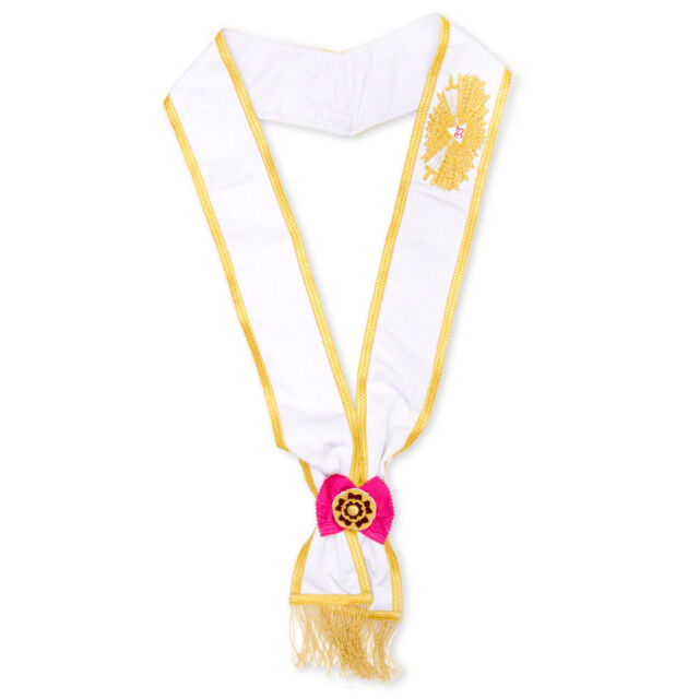 Masonic Rose Croix 33rd Degree Sash Best Quality Masons Collars