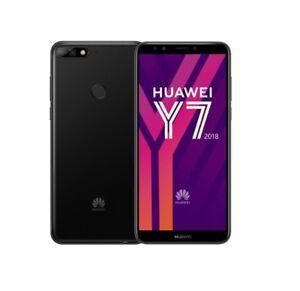 HUAWEI-Y7-2018-in-Black-Handy-Dummy-Attrappe-Requisit-Deko-Ausstellung