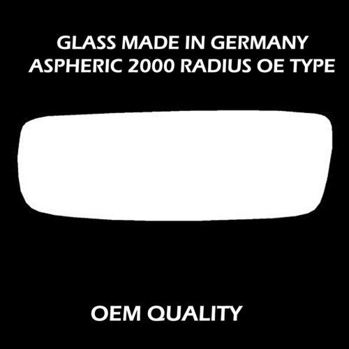 Volkswagen Crafter Wing//Door Mirror Glass Right Hand side 2007 to 2010