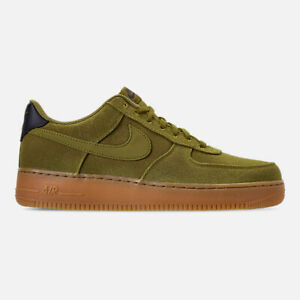 Details about AUTHENTIC NIKE AIR FORCE 1 '07 LV8 AQ0117 300 Camper Green Brown Gum Men size