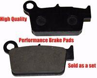 Yamaha Yz250f Rear Brake Pads Racing Pro Factory Braking 2003-2012 on sale