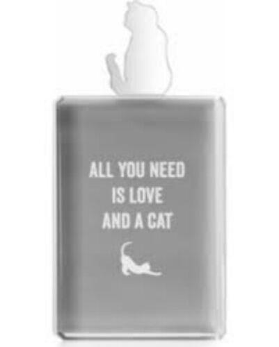 "Z Gallerie Acrylic Cat Photo Frame 4/""x6/"""