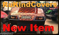 Club Cart Golfcart Yellow Eyes Headlight Covers Race Track Camp Ground Must Have