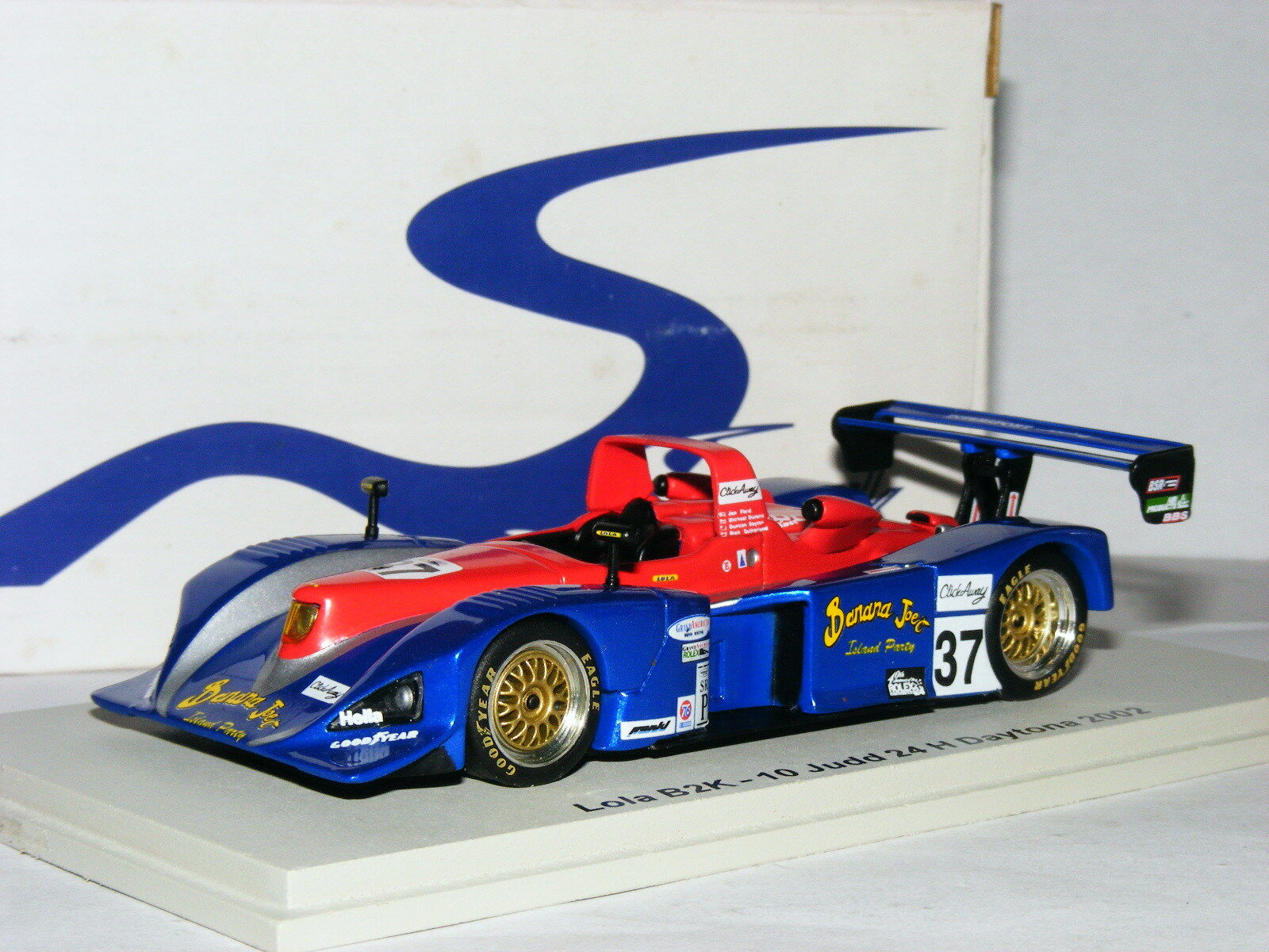 Spark Scla 08 Lola B2K 10 10 10 Judd tienda Intersport Racing 2002 Daytona 24hrs  37 1 43 4e8818