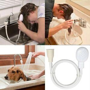 bath basin single one tap fitting shower bath head hose spray hairdresser dog uk ebay. Black Bedroom Furniture Sets. Home Design Ideas