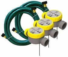 Nelson Rainscapes Lawn Watering System 50182 - Sprinkler Kit - Brand New