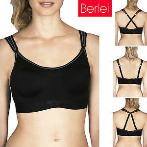 df988b6a11 Image is loading Womens-Berlei-Sports-Bra-Ultimate-Performance-Crop-Racer-