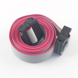 2Pcs 2.54mm Pitch 2x5 Pin 10 Pin 10 Wire Extension IDC Flat Ribbon ...