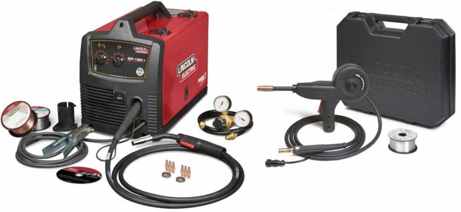 Lincoln SP-180T Mig Welder 220V Recondition U2689-2 w K2532-1 Aluminum Spool Gun. Available Now for 695.00