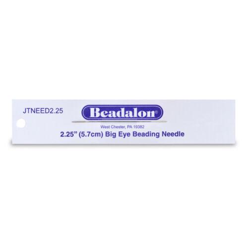Beadalon ® Big Eye aguja de abalorios 5.7cm largo 1 Pieza