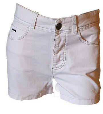 Preciso Shorts Pantaloncino Strech Bermuda Jeans Rosa Chiaro Donna Casual Dekher Tag. 42 Ultimo Stile