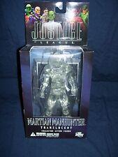 DC Direct Translucent Martian Manhunter Figure Alex Ross Justice League Series 5