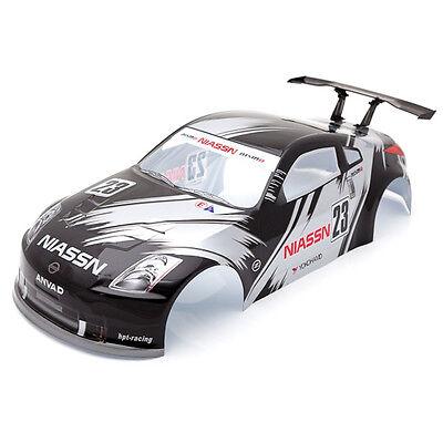 Radio Control RC Car 1/10 Nissan 350Z Body Shell Black 190mm S006BK
