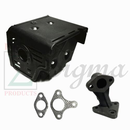 New Muffler Exhaust Assembly Manifold For Honda GX340 GX390 11HP /& 13HP Engine