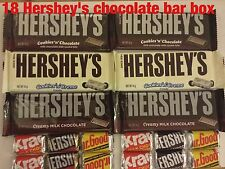 Qty 18 MEGA BOX Hershey's Huge American Chocolate Selection Gift Box hamper