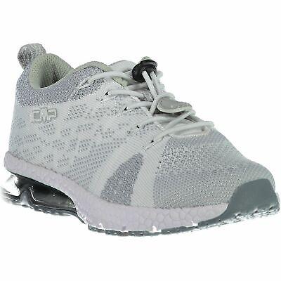Cmp Sneakers Scarpe Sportive Kids Knit Fitness Shoe Grigio Traspirante Leggero-mostra Il Titolo Originale