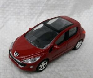 NOREV-3-Inches-Peugeot-308-Mk1-New-IN-Box-Scale-1-60