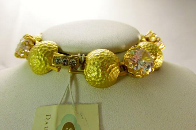 Spartina 449 Vintage Bauble Bracelet Crystal 807949 Nwt R 48 00