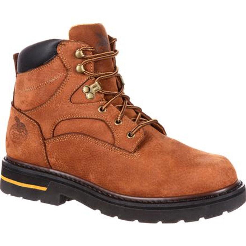 Georgia GB0125IA para hombre 6 in (approx. 15.24 cm) botas de trabajo rápido envío gratuito a EE. UU.