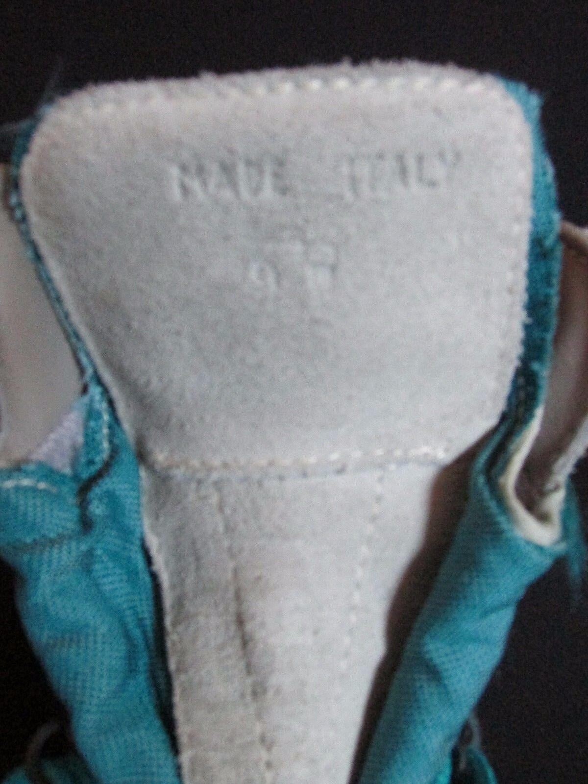 Cabela's Cabela's Cabela's Vintage Italia Gore-Tex Impermeable Bota De Senderismo gris Turquesa Gamuza US 9M 47117e