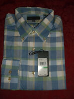 Tricots St Raphael Size Large Long Sleeve Oxford Shirt Multi Color
