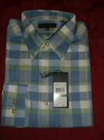 Tricots St Raphael Size Large Long Sleeve Oxford Shirt Multi Color