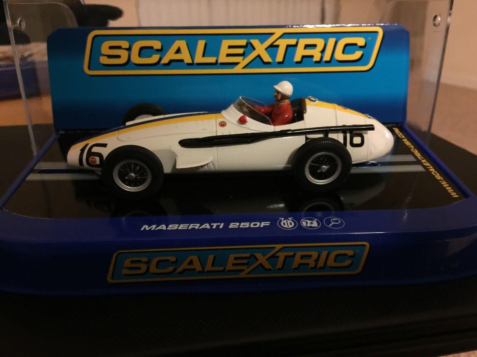 Scalextric USA BOXED VERSION C3403 Maserati 250F Jo Bonnier Pescara GP 1957