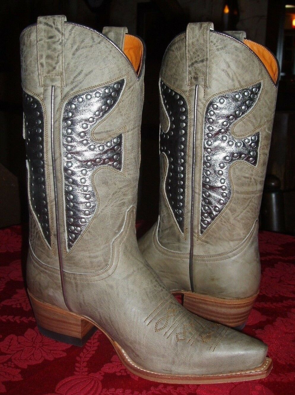 Frye Moss Green Daisy Duke Boots ~~Size 6 M~~New Without Box~~ Rare