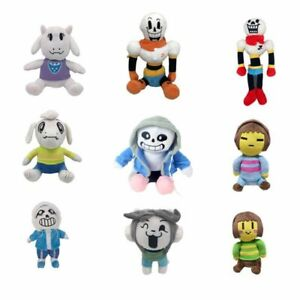Undertale-Plush-Sans-Papyrus-Asriel-Toriel-Stuffed-Animal-Plush-Toy-Doll-Gift