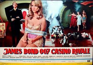 CASINO ROYALE JAMES BOND Italian fotobusta movie poster 2 ...