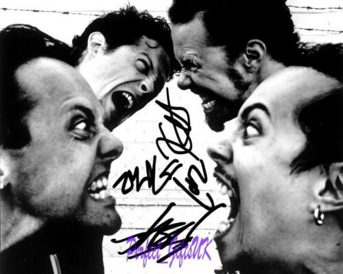 Metallica Band SIGNED AUTOGRAPHED 10X8 REPRO PHOTO PRINT