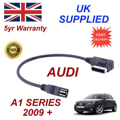 AUDI A1 4F0051510Q MP3 Memory Stick USB Cable de Audio Ami Mmi
