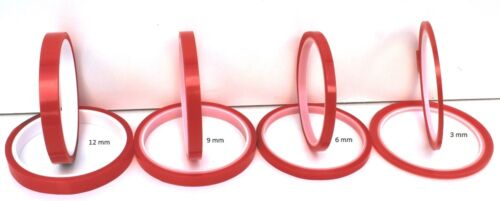 SUPER STICKY HI TACK CLEAR D//S TAPE 6 mm x 5 m VARIOUS QUANTITIES