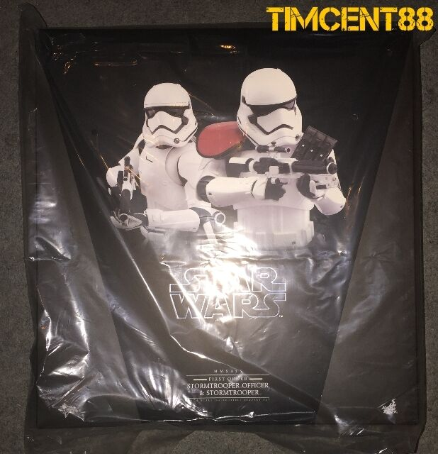 Hot Toys MMS335 Star Wars The Force despierta primera orden Stormtrooper oficial Set