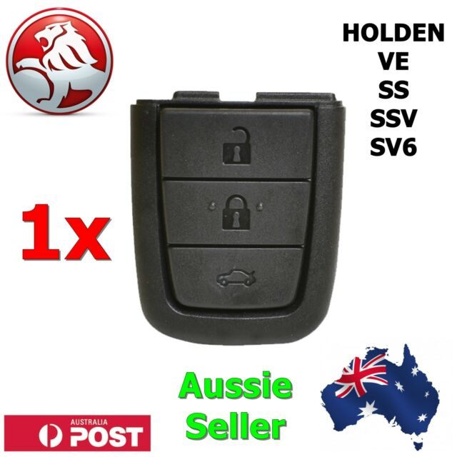 1x Holden VE SS SSV SV6 Commodore Replacement Key Blank Shell/Case/Enclosure