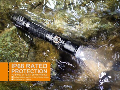 Holster /& CR123A Batterie Fenix PD35 V2.0 Cree XP-L HI V3 LED Taschenlampe inkl