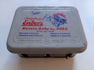 Vintage Enders Baby 9063 Benzine Camp Stoves, Enders Baby 9063