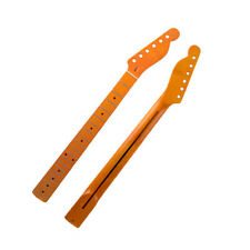 22 Frets Canada Maple Guitar Neck for TL Tele Parts 56mm Heel Middle Line Inlay
