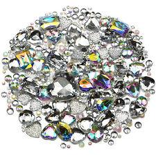 ICE Mix/Set of Gems Rhinestones Diamantes Crystal Embellishments Craft Decoden
