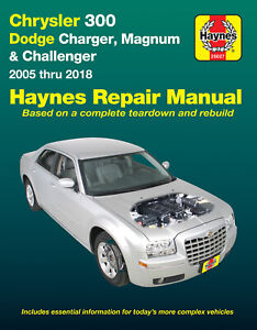 Chrysler-300-Dodge-Charger-Challenger-2005-2018-Repair-Manual