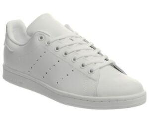 exclusive range classic shoes good out x Détails sur Hommes Adidas Stan Smith Baskets Triple Baskets Blanches