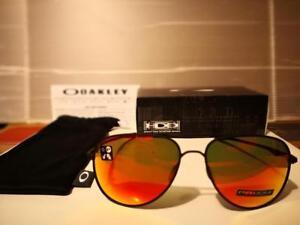 8402fb45e6 NEW Oakley Elmont L AVIATOR Sunglasses 60mm Satin Black   PRIZM Ruby ...