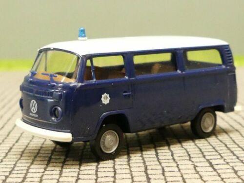 1//87 Brekina VW T2 Rijkspolitie blau//Dach-weiss NL