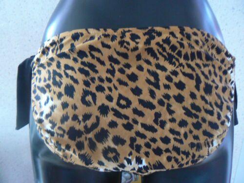 Stampa Animale Resort Bikini Bottom Slip Cravatta lati Taglia 6 8 10 12 14 16 20 22